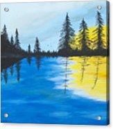 Minnesota Lakes Acrylic Print