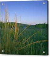 Minnesota Prairie Moon Rise Acrylic Print