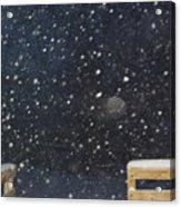 Minnesota Snow Acrylic Print