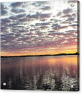 Minnesota Sunrise Acrylic Print