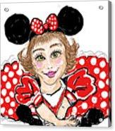 Minnie Mouse Acrylic Print