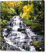 Minnihaha Falls In Autumn Acrylic Print