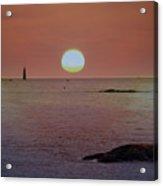 Minots Ledge Light At Sunrise Acrylic Print