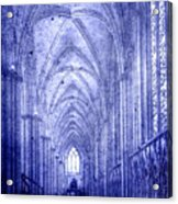 Minster In Blue Acrylic Print