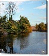 Minster Pool Lichfield Acrylic Print