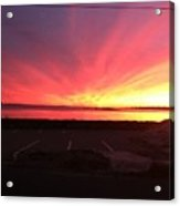 Miracle Sunset Acrylic Print