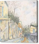 Mirage Of Utrillo Acrylic Print