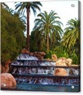 Mirage Waterfall Acrylic Print