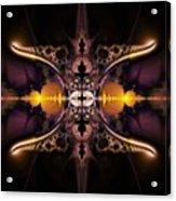 Mirror Gateway / Holga Effect Acrylic Print