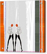 Mirror Reflections Acrylic Print