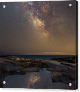 Mirror Reflections Panorama Acrylic Print