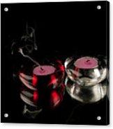 Mirrored Hearts Acrylic Print