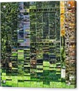 Mirrored Landscape Acrylic Print