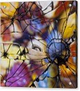 Mirrored Pebbles Acrylic Print