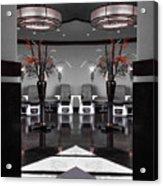 Mirrored Salon  Acrylic Print