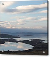 Mirrored Sky In Connemara Ireland Acrylic Print
