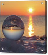 Mirrored Sunrise Acrylic Print