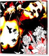 Mischievious Hummingbird Acrylic Print