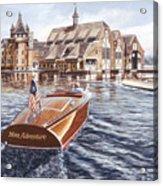 Miss Adventure Acrylic Print by Richard De Wolfe