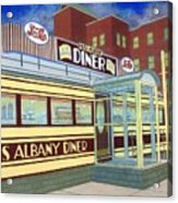 Miss Albany Diner Acrylic Print