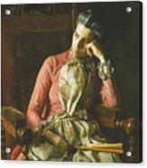 Miss Amelia Van Buren Acrylic Print