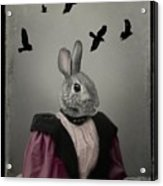 Miss Bunny And Crows Acrylic Print