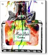 Miss Dior Grunge Acrylic Print