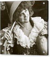 Miss Marie Studholme As Lady Madcap 1905 Acrylic Print