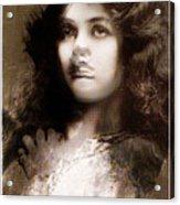Miss Maude Fealy Acrylic Print