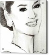 Miss Universe 2015 Acrylic Print