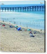 Mission Beach Summer Acrylic Print