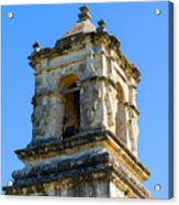 Mission Bell Tower Acrylic Print