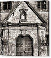 Mission Concepcion - Bw Toned Border Acrylic Print
