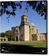 Mission San Jose Y San Miguel De Aguayo. Church. Acrylic Print