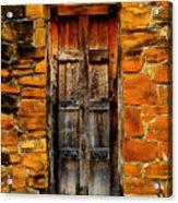 Mission Door Acrylic Print