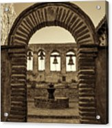 Mission Gate And Bells #2 Acrylic Print
