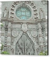 Mission Inn Chapel Door Acrylic Print