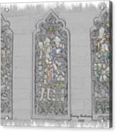 Mission Inn Chapel Stained Glass Acrylic Print