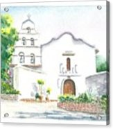 Mission San Diego Acrylic Print