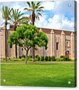 Mission San Gabriel Arcangel, San Gabriel, California Acrylic Print