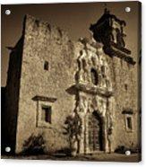 Mission San Jose - Sepia Acrylic Print