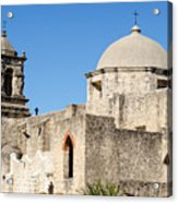 Mission San Jose Towers Acrylic Print
