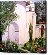Mission San Juan Batista Acrylic Print
