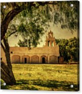 Mission San Juan Church Acrylic Print