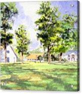 Mission San Luis Acrylic Print