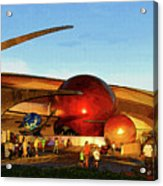 Mission Space Acrylic Print