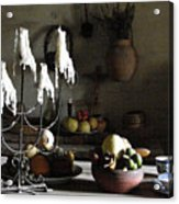 Mission Still Life 1 Acrylic Print by Dana Patterson