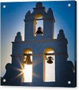 Mission Sunset Acrylic Print