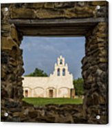 Mission View Acrylic Print