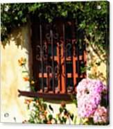Mission Window 1 Acrylic Print